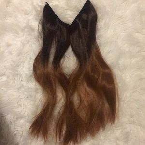 Wired hair extensions